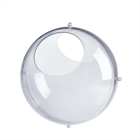 ORION, Förvaringsbubbla ø32cm set/2, transparent grå