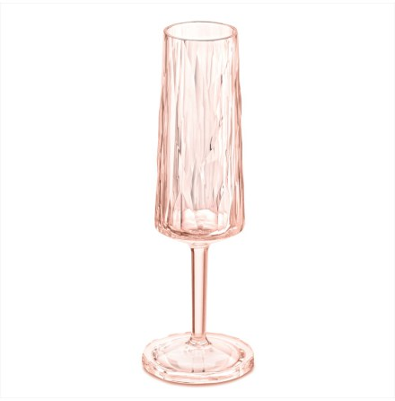 CLUB NO. 5 Champagneglas 100ml, rosa