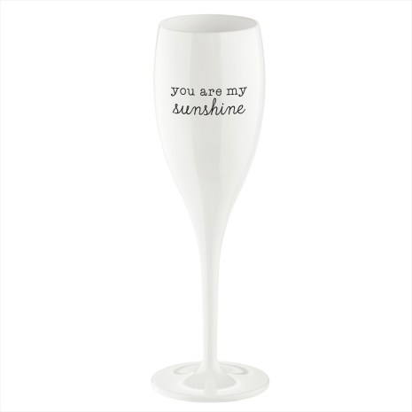 CHEERS NO.1 Champagneglas YOU ARE MY SUNSHINE