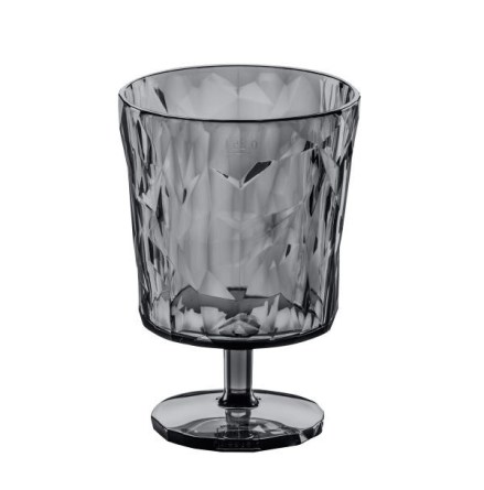 CLUB S, Goblet Glas, Transparent Antracit 8-pack