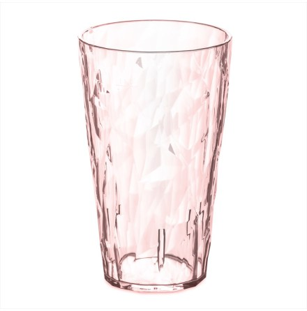 CLUB L,transparent rose quartz