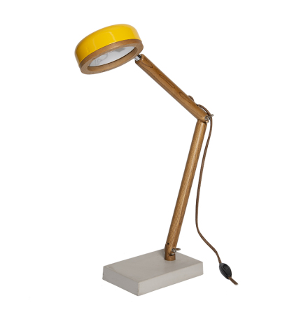 Hipp LED bordslampa - Copenhagen Yellow