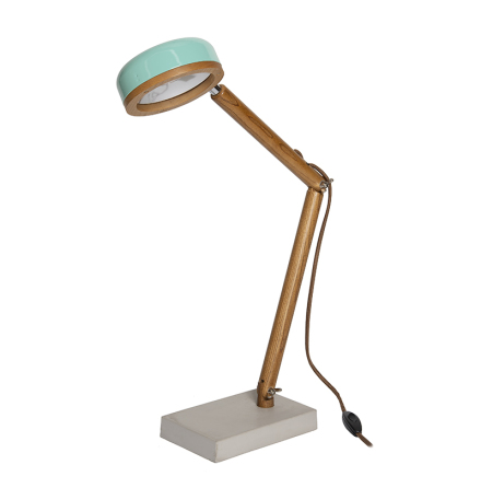 Hipp LED bordslampa - Tiffany Green