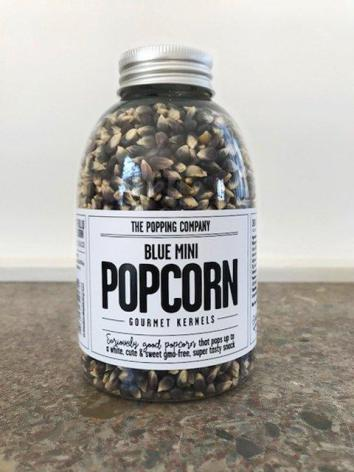 Blue Mini Popcorn, flaska 380g