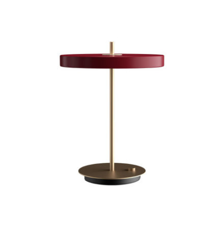 UMAGE Asteria Bordslampa, Ruby Red