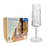 CLUB NO. 5 Champagneglas 6-pack 100ml, crystal clear