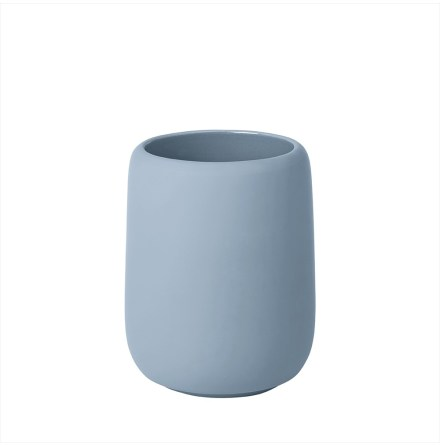 SONO, Tumbler / Tandborstmugg, Ashley Blue, Blomus
