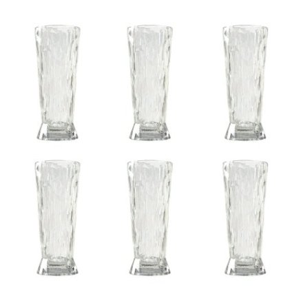 CLUB NO. 10 Ölglas 6-pack 300 ml Crystal clear