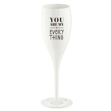 Champagneglas You are my everything 6-pack