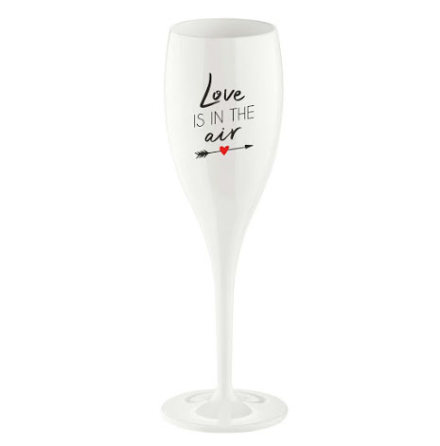 Champagneglas Love is in the air 6-pack